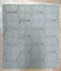 2015 Press Mold Tiles - Dragonfly