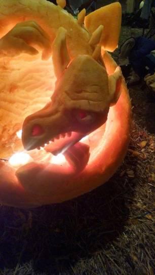 2015 Pumpkin Dragon
