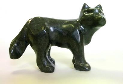 2015 Soapstone Wolf