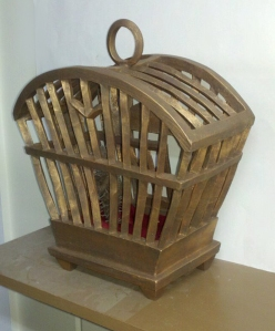 Cage 3 - Rear View